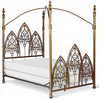 Corsican Iron Canopy Bed 43016 | Gothic Canopy Bed