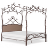 Corsican Iron Canopy Bed 43142 | Forest Dreams Canopy Bed with Upholstery