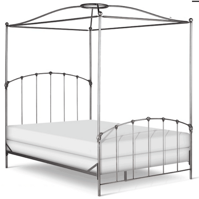 Corsican Iron Canopy Bed 43328 | Double Canopy Bed