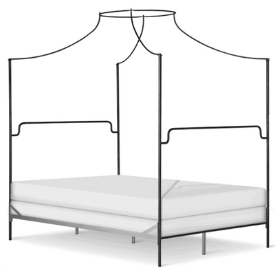 Corsican Iron Canopy Bed 43602 | Olivia Canopy Bed
