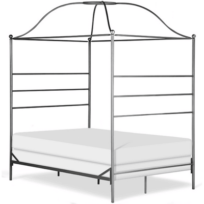 Corsican Iron Canopy Bed 43616 | Double Canopy Bed