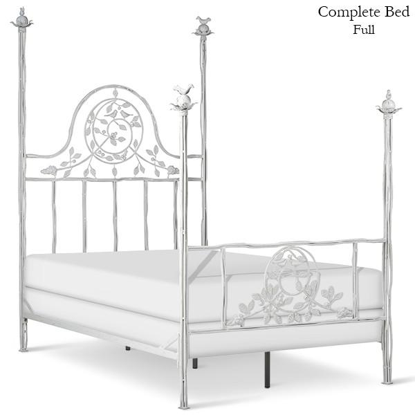 Corsican Iron Four Post Bed 43638 | Four Post Twiggy Bed