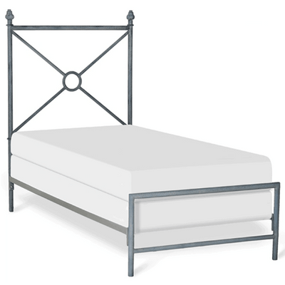 Corsican Iron Standard Bed 43722 | Rio Circle Standard Bed