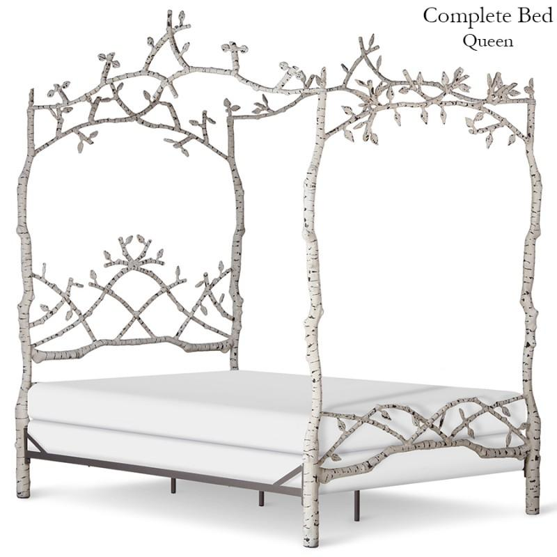 Corsican Iron Canopy Bed 43750 | Forest Dreams Canopy Bed-Canopy Bed-Jack and Jill Boutique