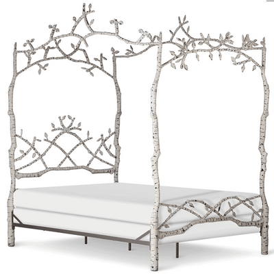 Corsican Iron Canopy Bed 43750 | Forest Dreams Canopy Bed