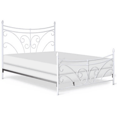 Corsican Iron Standard Bed 43776 | Standard Bed with Scrolls