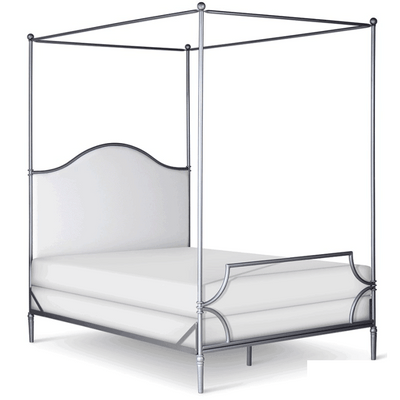 Corsican Iron Canopy Bed 43822 | Upholstered Canopy Bed