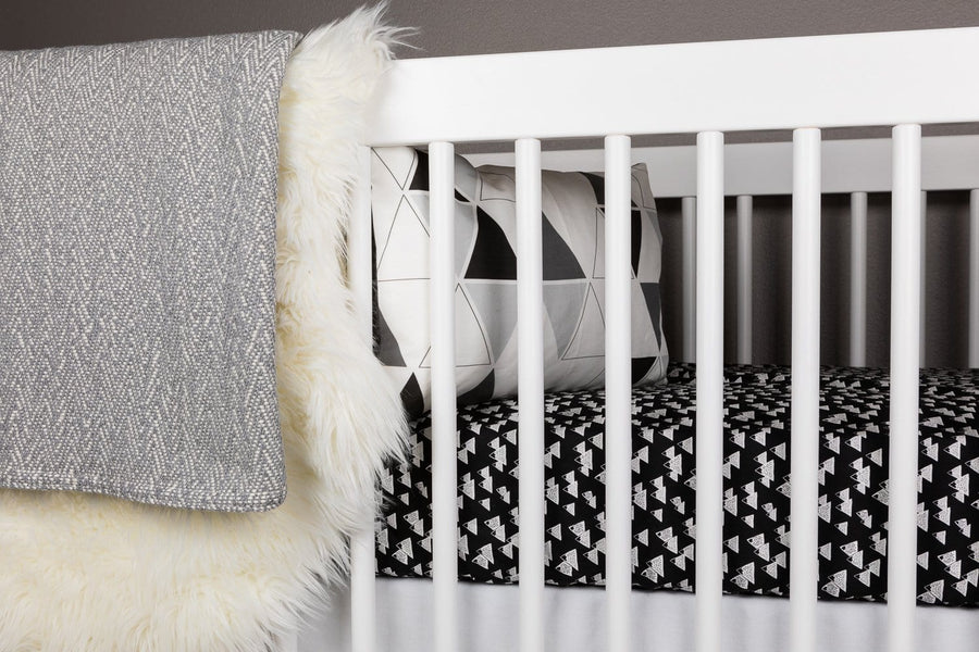 Snowy Mountain Crib Bedding Set