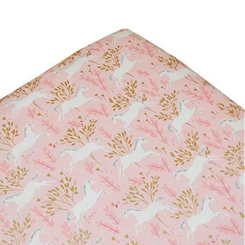 Crib Sheet | Unicorn in Pink-Crib Sheets-Default-Jack and Jill Boutique