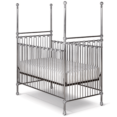 Corsican Iron Cribs 6778 | Stationary Four Post Crib