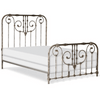 Corsican Iron Standard Bed 6810 | Standard Ajaccio Bed with Scrolls