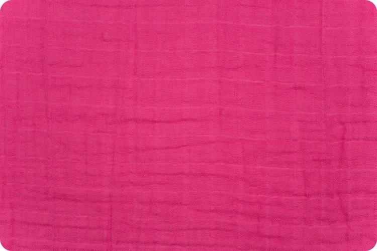 Solid Embrace® Carnation | Double Gauze Cotton-Fabric-Jack and Jill Boutique