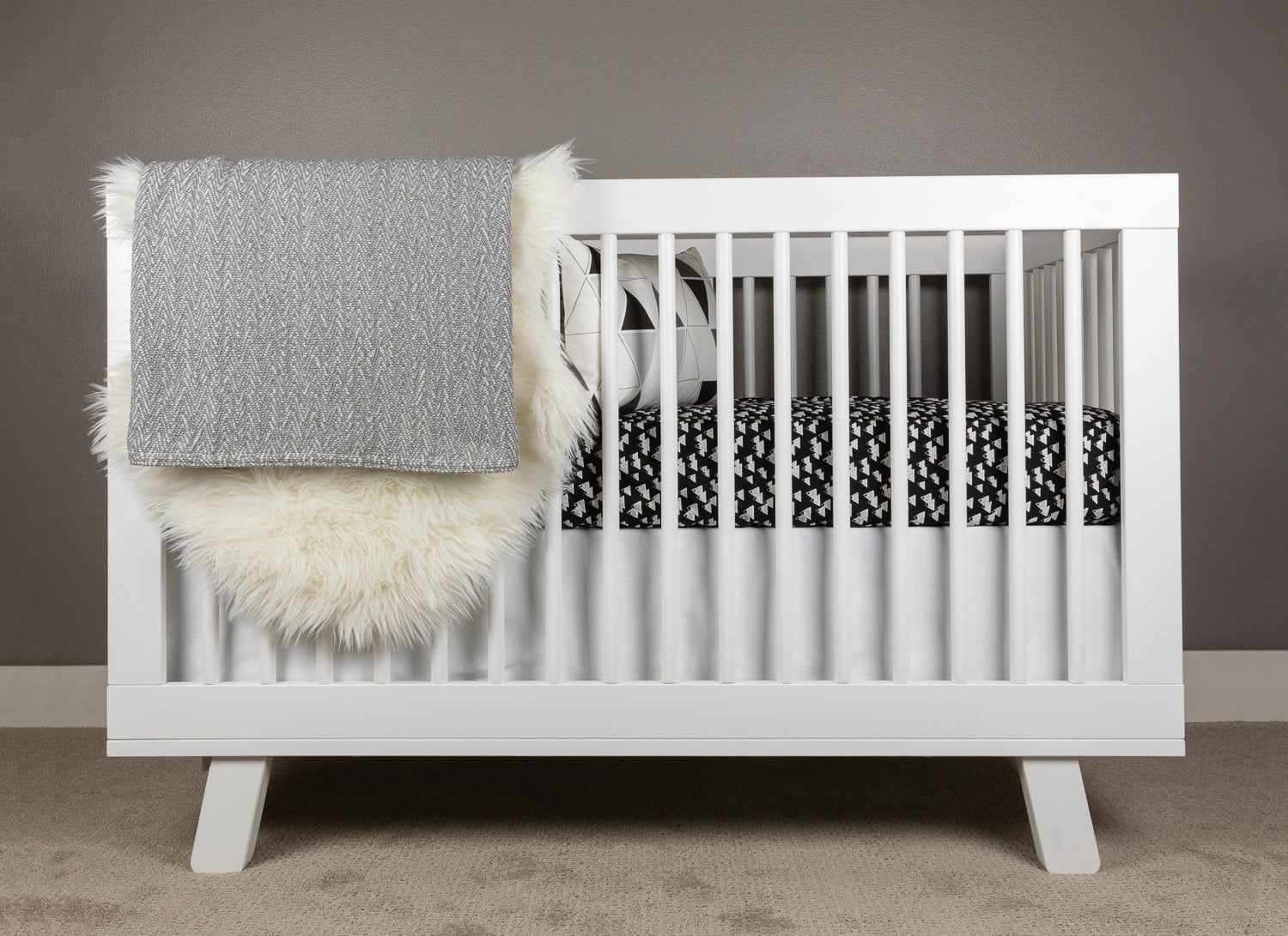 Snowy Mountain Crib Bedding Set-Crib Bedding Set-Jack and Jill Boutique