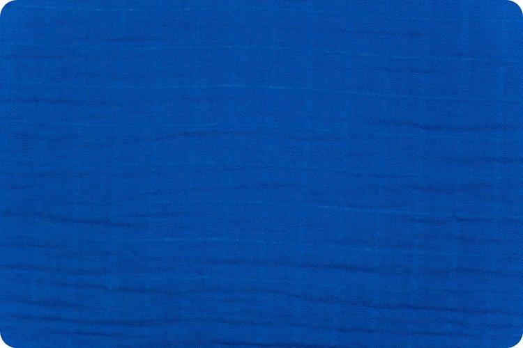 Solid Embrace® True Blue | Double Gauze Cotton-Fabric-Jack and Jill Boutique
