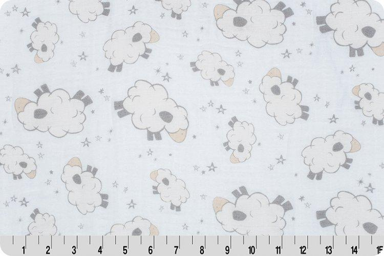 Lambkins Embrace® Ivory | Double Gauze Cotton-Fabric-Jack and Jill Boutique