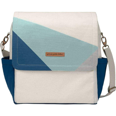 Boxy Backpack Diaper Bags | Petunia Pickle Bottom-Diaper Bags-Birch/Fjord-Jack and Jill Boutique
