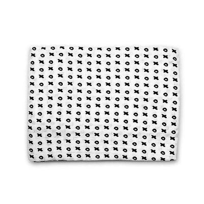 Organic Cotton Muslin Swaddle - XOXO Blanket-Crib Blanket-Default-Jack and Jill Boutique