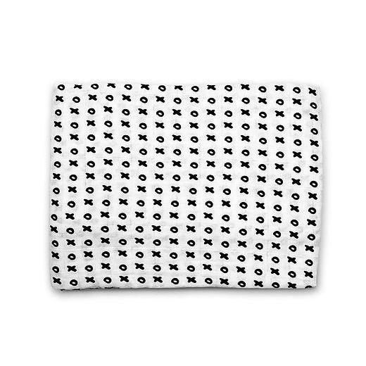 Organic Cotton Muslin Swaddle - XOXO Blanket