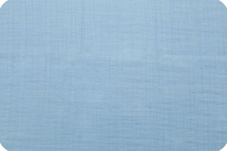 Solid Embrace Sky | Double Gauze Cotton-Fabric-Jack and Jill Boutique