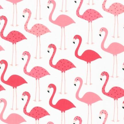 Fabric by the Yard | Flamingo-Fabric-Jack and Jill Boutique