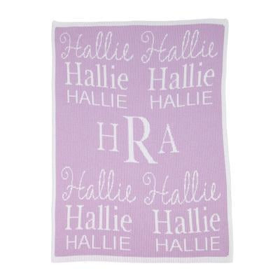 All About Me Blanket Personalized Stroller Blanket or Baby Blanket-Blankets-Jack and Jill Boutique