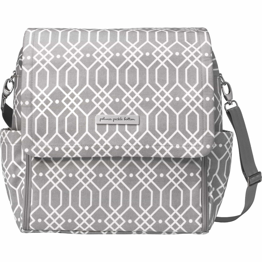 Boxy Backpack In Quartz | Petunia Pickle Bottom-Diaper Bags-Jack and Jill Boutique