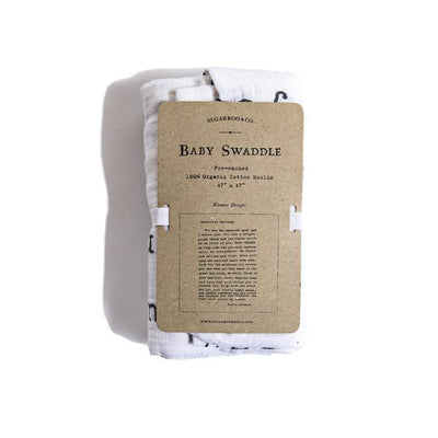 Baby Swaddle Blanket - Letter To Sophie