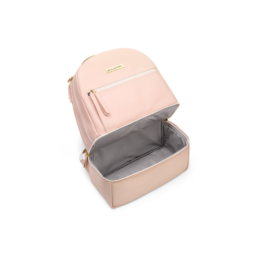 Axis Backpack In Blush Leatherette | Petunia Pickle Bottom