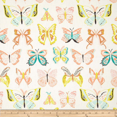 Butterfly Fabric By The Yard | 100% Cotton