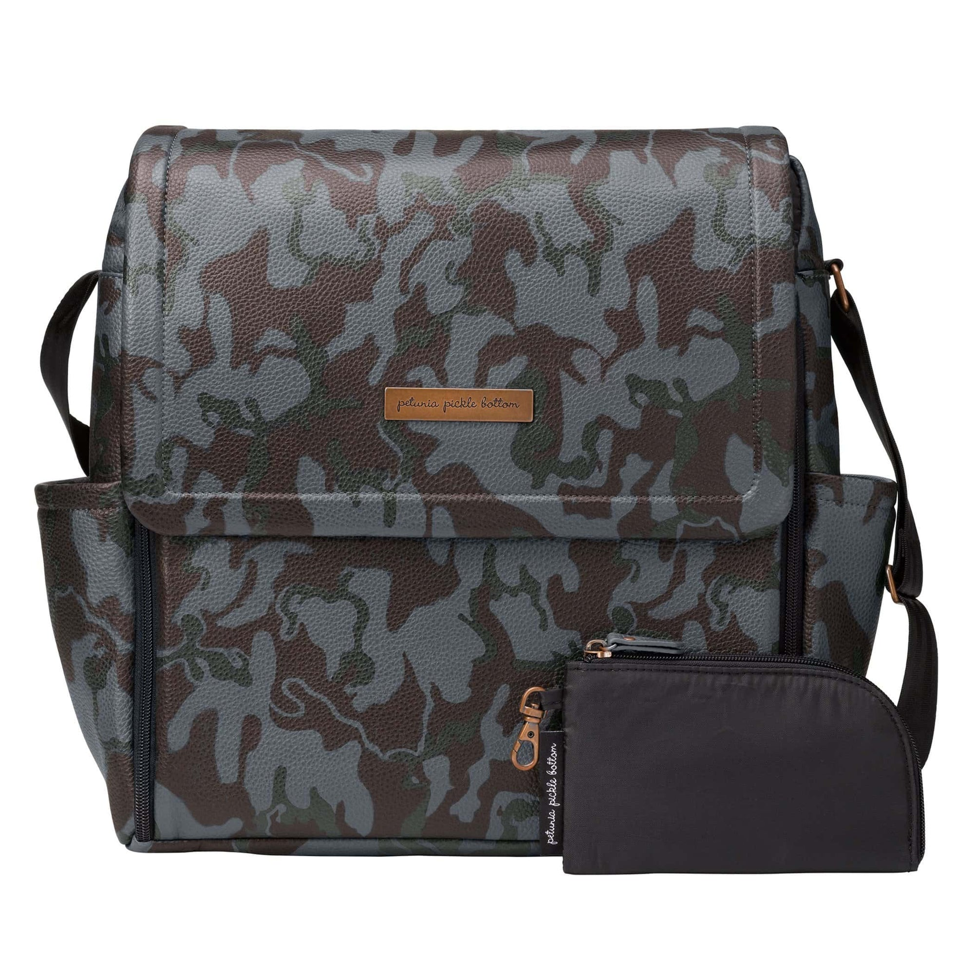 Boxy Backpack in Camo-Diaper Bags-Jack and Jill Boutique