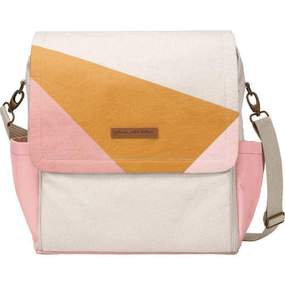 Boxy Backpack Diaper Bags | Petunia Pickle Bottom-Diaper Bags-Birch/Macaron-Jack and Jill Boutique