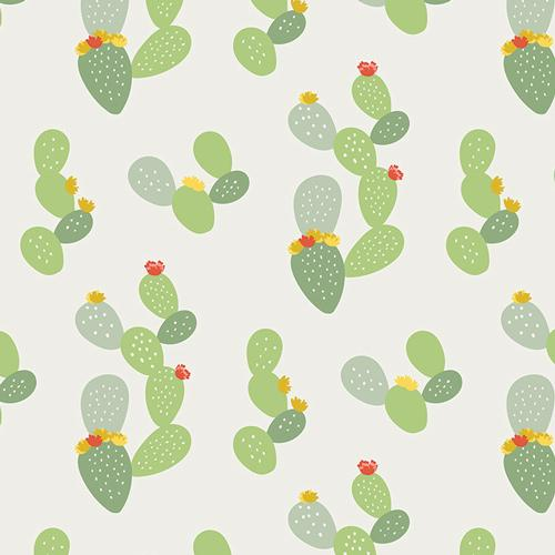 Fabric by the Yard | Day Trip Prickly in Light-Fabric-Jack and Jill Boutique