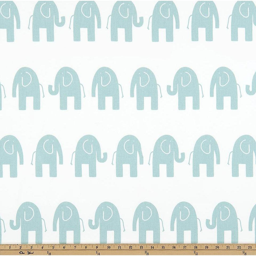 Ele White/Canal Twill Fabric-Fabric-Jack and Jill Boutique