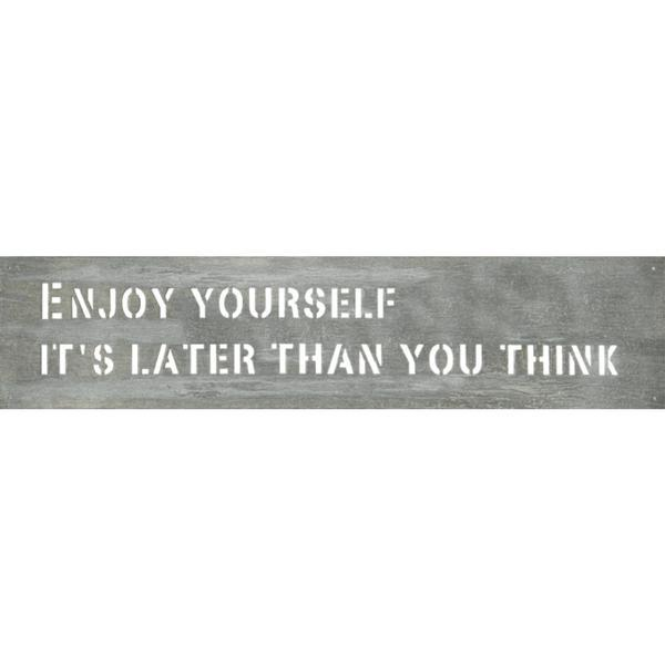 Metal Signs - Enjoy Yourself
