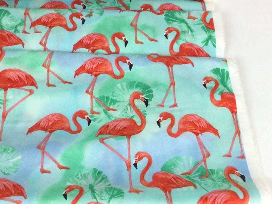 Crib Sheet | Flamingo Paradise