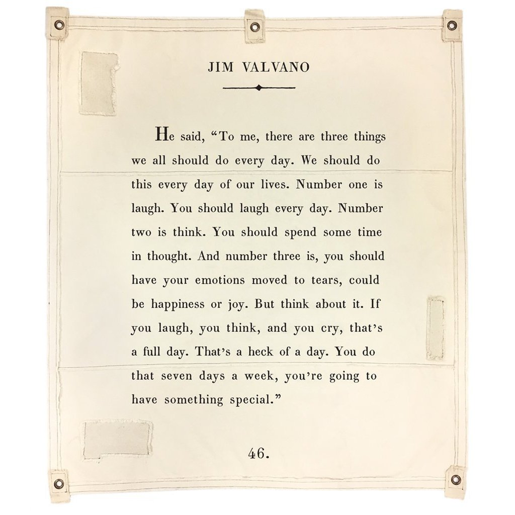 Wall Tarp - Quote from Jim Valvano Wall Hanging-Wall Tarp-Jack and Jill Boutique