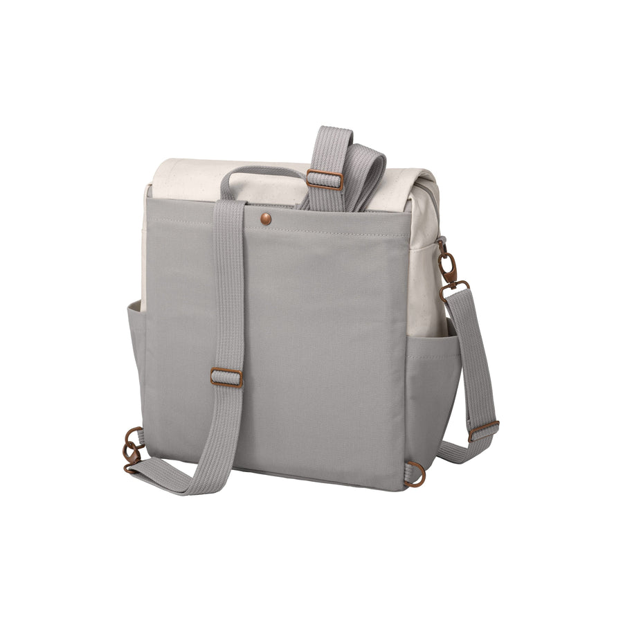Boxy Backpack In Birch/Stone | Petunia Pickle Bottom