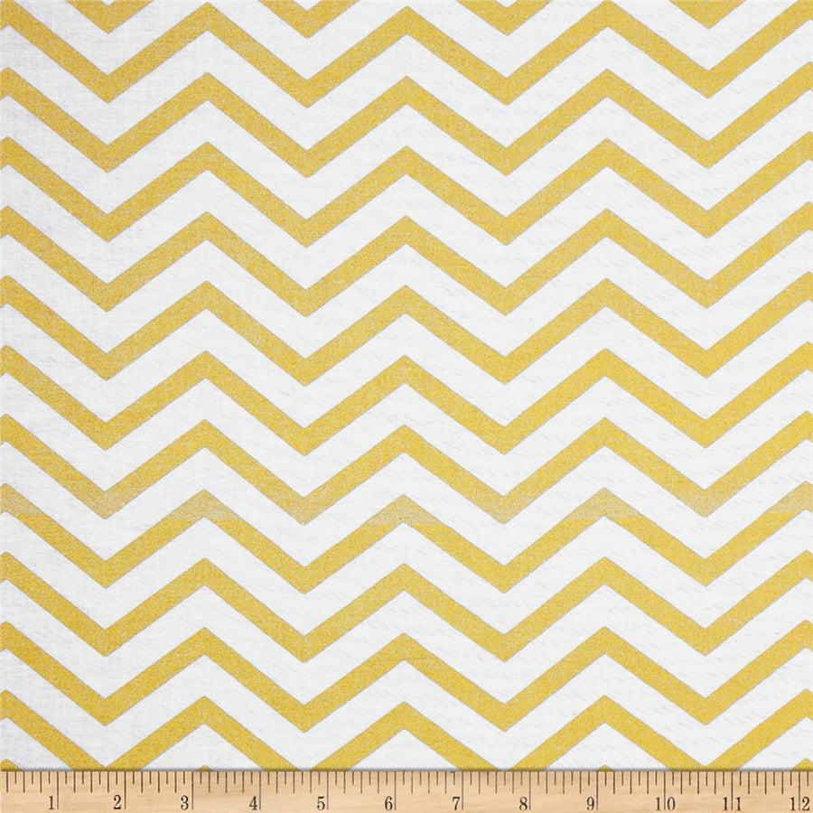 Sleek Chevron Pearlized Fabric by the Yard | 100% Cotton-Fabric-Default-Jack and Jill Boutique