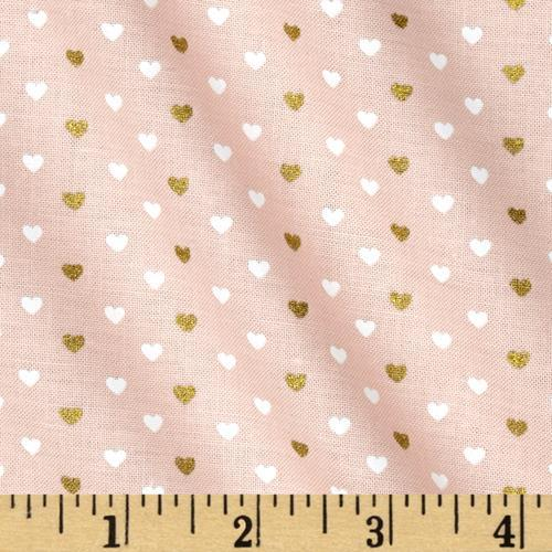 Heart Sprinkles Fabric by the Yard | 100% Cotton-Fabric-Default-Jack and Jill Boutique