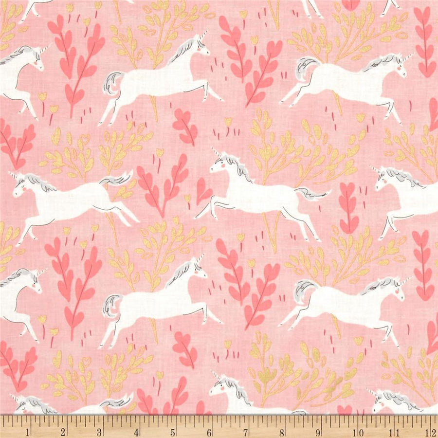 Unicorn Forest Fabric by the Yard | 100% Cotton-Fabric-Default-Jack and Jill Boutique