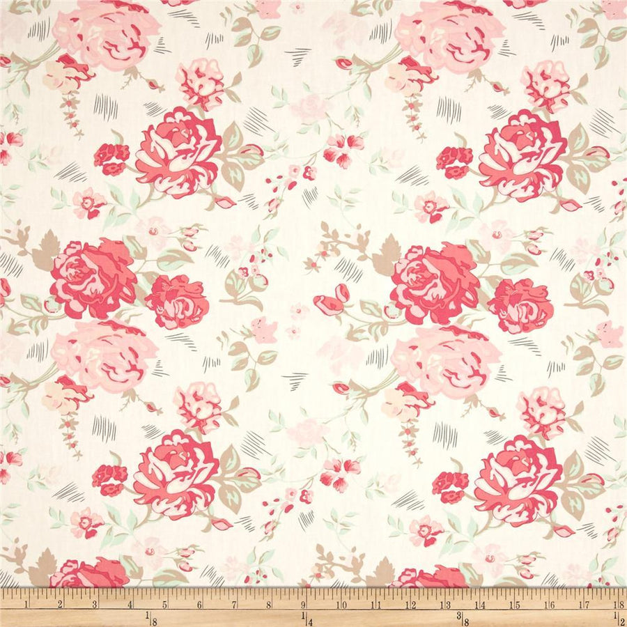 Le Vintage Chic Nostalgic Romance Fabric by the Yard | 100% Cotton-Fabric-Default-Jack and Jill Boutique