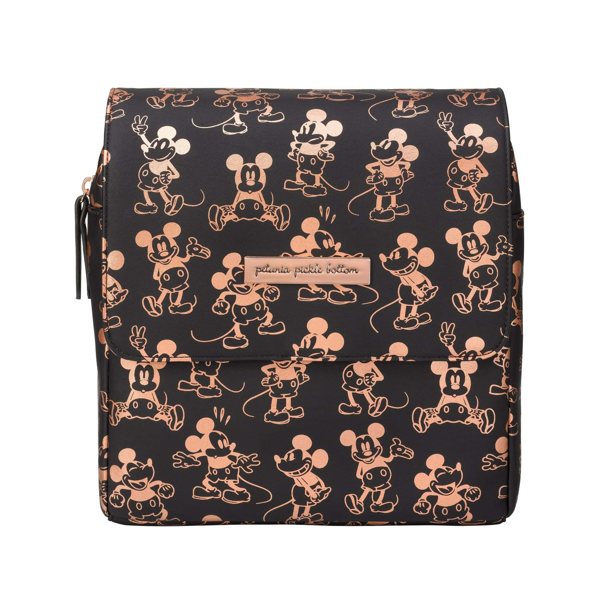 Mini Boxy Backpack in Metallic Mickey Mouse-Disney Magic-Jack and Jill Boutique