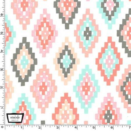 Cornered Fabric by the Yard | 100% Cotton-Fabric-Default-Jack and Jill Boutique
