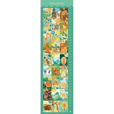 A through Z Animals Growth Charts-Growth Charts-Default-Jack and Jill Boutique