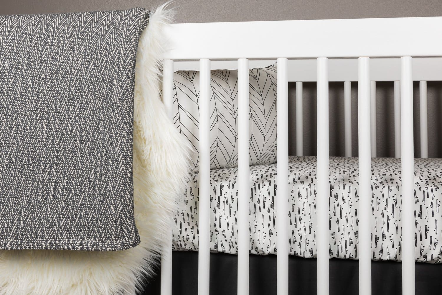 Tiny Twig Crib Bedding Set-Crib Bedding Set-Jack and Jill Boutique