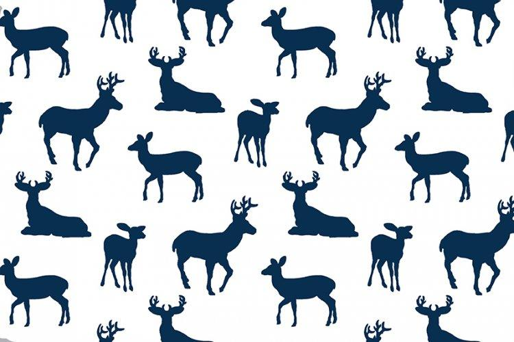 Premier Deer To Me Embrace® Cobalt | Double Gauze Cotton-Fabric-Jack and Jill Boutique