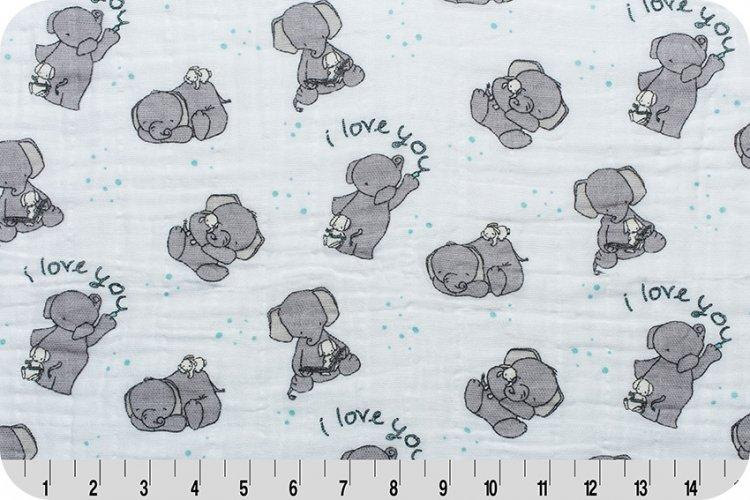 SMD Be Loved Cotton Embrace® Aruba | Double Gauze Cotton-Fabric-Jack and Jill Boutique