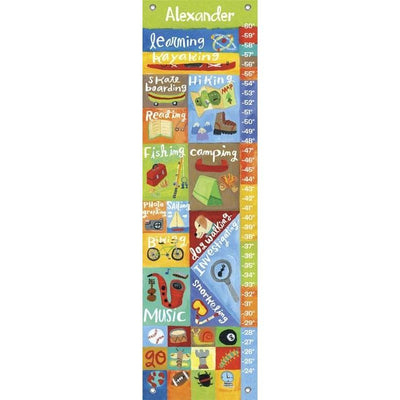 Active Boy Growth Charts-Growth Charts-Default-Jack and Jill Boutique