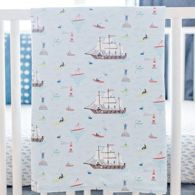 Ahoy Matey Crib Baby Bedding Set-Crib Bedding Set-Default-Jack and Jill Boutique