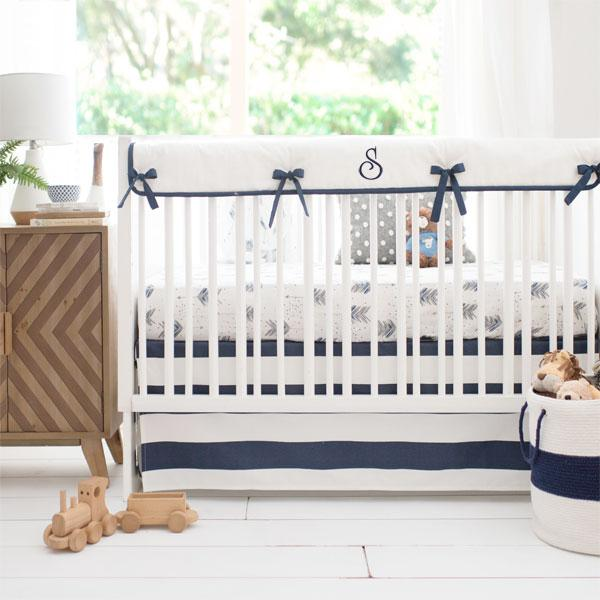 Arrow Crib Bedding Set-Crib Bedding Set-Jack and Jill Boutique